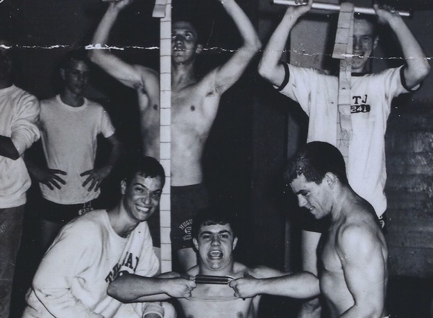 Bottom, Left to right: Mike Kuper, Norman Williams, Tommy Grizzard 1964